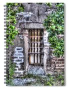 Jail Room Window Spiral Notebook