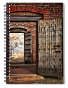 Jailed Spiral Notebook