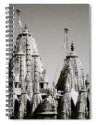 Jain Temple Towers Spiral Notebook