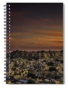 Jaisalmer Fort At Twilight Spiral Notebook