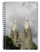 Jakarta Cathedral Indonesia Spiral Notebook