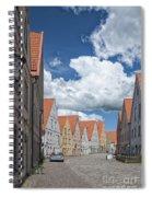 Jakriborg Street Scene Spiral Notebook