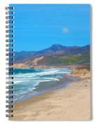 Jalama Beach Santa Barbara County California Spiral Notebook