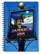Jamaica Inn On Bodmin Moor Spiral Notebook