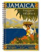 Jamaica The Gem Of The Tropics Spiral Notebook