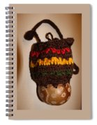 Jamaican Coconut And Crochet Shoulder Bag Spiral Notebook