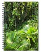 Jamaican Jungle Spiral Notebook