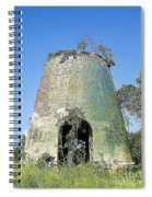 Jamaican Sugar Mill Spiral Notebook