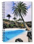 Jameos Del Agua On Lanzarote Spiral Notebook