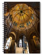 James A Garfield Monument Spiral Notebook