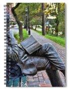 James Bradley Statue 9882 Spiral Notebook