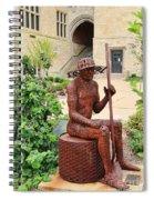 James Brunner Sculpture 1559 Spiral Notebook