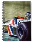 James Hunt 1975 Hesketh 308b Spiral Notebook