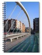 James Joyce Bridge In Dublin Spiral Notebook