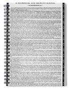 James Madison Memorial Spiral Notebook