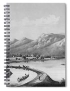 James River Canal, 1857 Spiral Notebook
