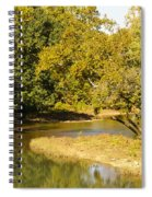 James River In The Fall Spiral Notebook