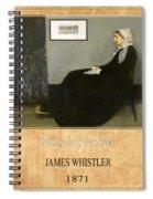 James Whistler 1 Spiral Notebook