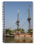 Jamestown Historic Sailingships Spiral Notebook