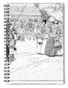 Jamestown Women, 1621 Spiral Notebook