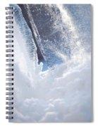 Jammer Abstract Schism 001 Spiral Notebook