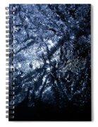 Jammer Blue Hematite 001 Spiral Notebook