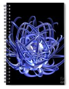 Jammer Blue Star 001 Spiral Notebook