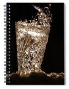 Jammer Crystal Ice Torch  Spiral Notebook