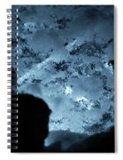 Jammer Deep Blue 001 Spiral Notebook