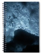 Jammer Deep Blue 002 Spiral Notebook