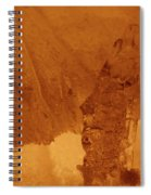 jammer Fire and Ice 001 Spiral Notebook