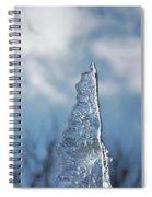 Jammer Ice Sail 001 Spiral Notebook