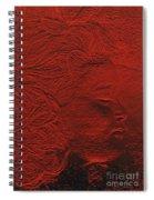 jammer MZ portrait 02  Spiral Notebook