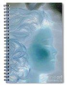 jammer MZ portrait 03 Spiral Notebook