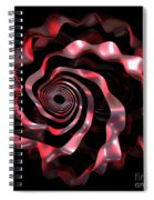 jammer Red Ribbon Spiral Notebook