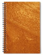 Jammer Tangerine Abstract Spiral Notebook