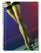 Jane Legs 1-1 Spiral Notebook