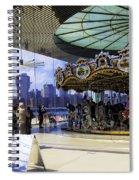 Jane's Carousel 2 In Dumbo - Brooklyn Spiral Notebook