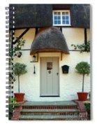 Janes Cottage Nether Wallop Spiral Notebook