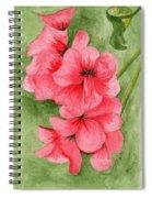 Jane's Flowers Spiral Notebook