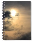 January Sunset After The Storm Spiral Notebook