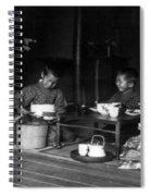 Japan Tea Party Spiral Notebook