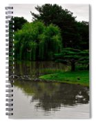 Japanese Garden Point Spiral Notebook