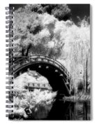 Japanese Gardens And Bridge Spiral Notebook