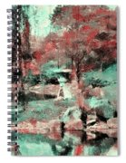 Japanese Garden's Spiral Notebook