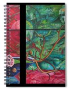 Japanesse Flower Arrangment Spiral Notebook