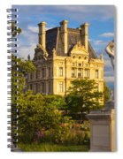 Jardin Des Tuileries Spiral Notebook
