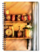 Jars - Kitchen Shelves Spiral Notebook