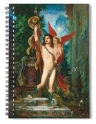 Jason And Eros Spiral Notebook