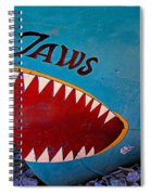 Jaws Boat Bow Spiral Notebook